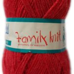 FAMILY KNIT 4 PLY 50g-COL.404 MELLOW PINK 2