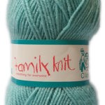 FAMILY KNIT 4 PLY 50g-COL.303 CLOUD BLUE 3