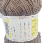 COFFEE COTTON D.K 100g-COL.SUEDE 2
