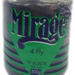 MIRAGE 4 PLY CONE 500g-COL.024 BOTTLE GREEN 3