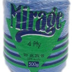 MIRAGE 4 PLY CONE 500g-COL.061 SOFT LIME 2