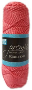 PREMIER NATURAL COTTON D.K 50g-COL.029 CORAL 4