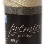 COTTON ON 4 PLY 100g-COL.001 WHITE 3