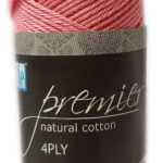 PREMIER NATURAL COTTON 4 PLY 50g-COL.071 LILAC 2