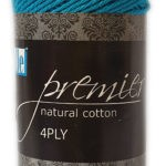 PREMIER NATURAL COTTON 4 PLY 50g-COL.064 MULBERRY 2