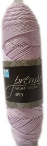 PREMIER NATURAL COTTON 4 PLY 50g-COL.071 LILAC 4