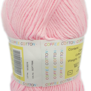 COFFEE COTTON D.K 100g-COL.SOFT PINK 9