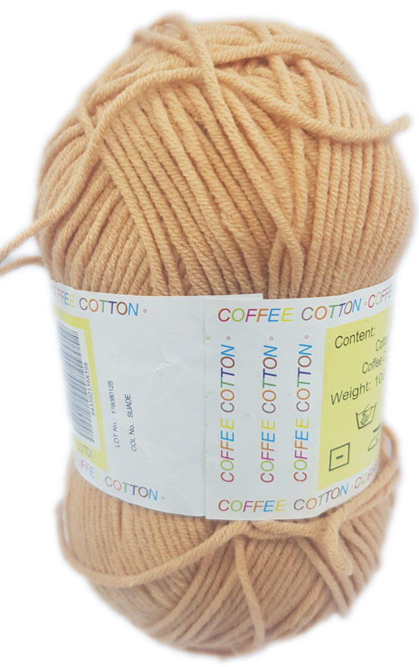 COFFEE COTTON D.K 100g-COL.SUEDE 1