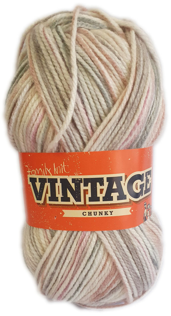 VINTAGE CHUNKY PRINT 100g-COL.529 RYDELL RUMBLE 1