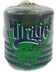 MIRAGE 4 PLY CONE 500g-COL.024 BOTTLE GREEN 4