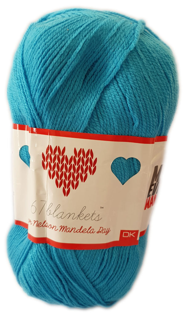 67 BLANKETS D.K 300g-COL.025 TURQUOISE 1