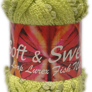 SOFT & SWEET LOOP LACE 100g-COL.124 LIME 5