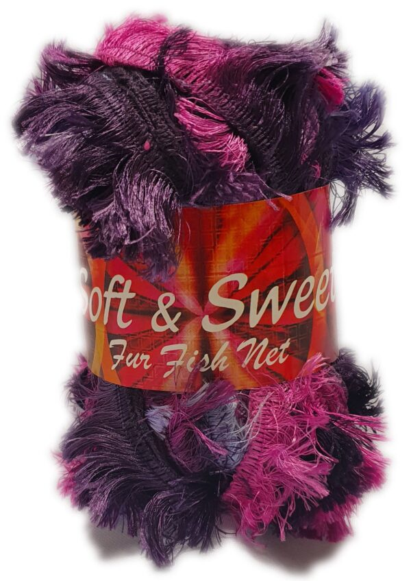 SOFT & SWEET FUR LACE 100g-COL.409 1