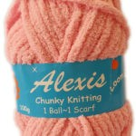ALEXIS CHUNKY 100g-COL.13 RED 2