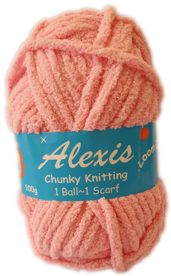 ALEXIS CHUNKY 100g-COL.18 PINK 1