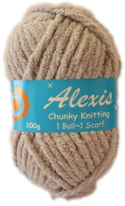 ALEXIS CHUNKY 100g-COL.59 LIGHT GREY 4