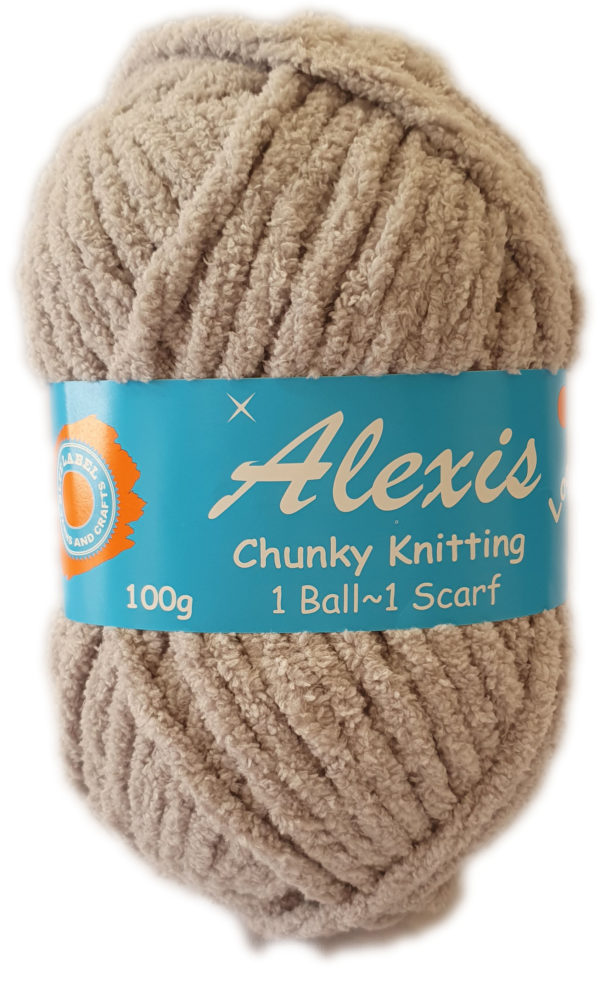ALEXIS CHUNKY 100g-COL.59 LIGHT GREY 1