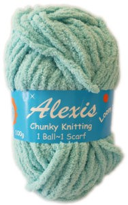 ALEXIS CHUNKY 100g-COL 92 TURQUOISE 4