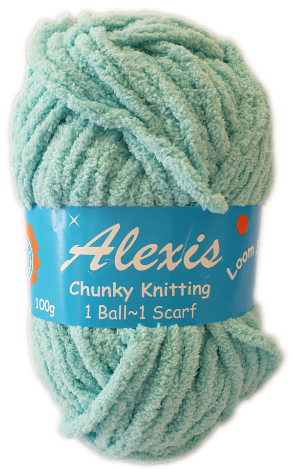 ALEXIS CHUNKY 100g-COL 92 TURQUOISE 1