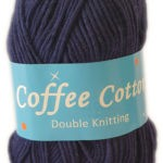 COFFEE COTTON D.K 100g-COL.013 RED 2