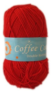 COFFEE COTTON D.K 100g-COL.013 RED 4