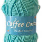 COFFEE COTTON D.K 100g-COL.186 SKY BLUE 3