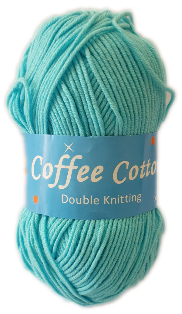 COFFEE COTTON D.K 100g-COL.092 TURQUOISE 1