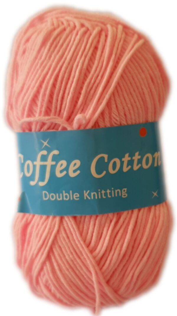 COFFEE COTTON D.K 100g-COL.164 ROSE PINK 1