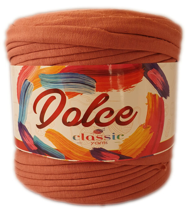 DOLCE T-SHIRT YARN-CORAL ROSE 1