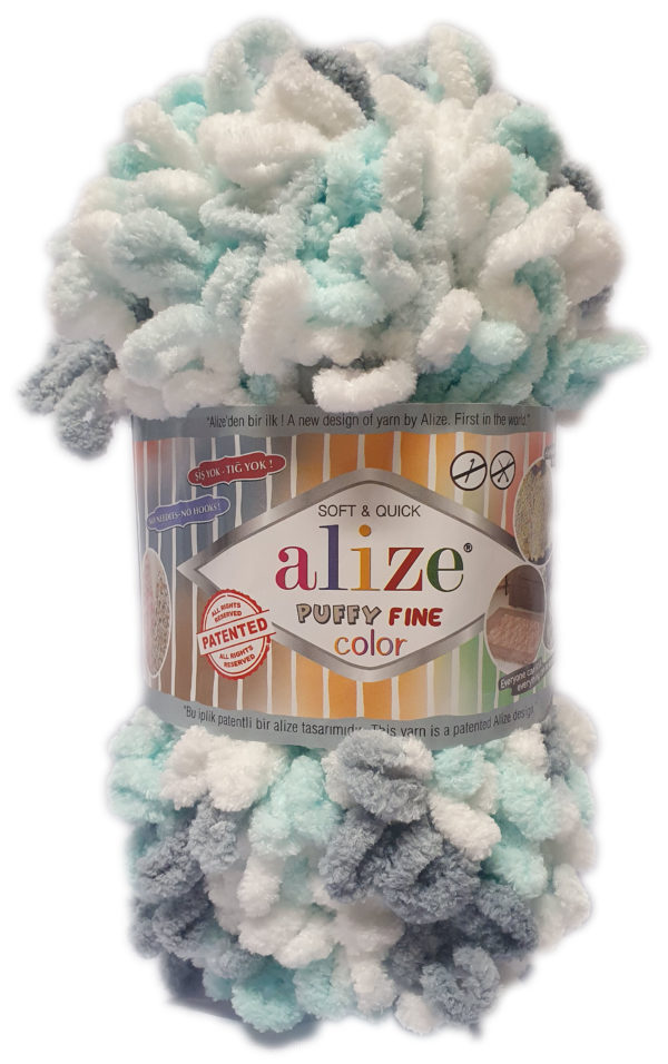 ALIZE PUFFY FINE COLOR 100g-COL.5939 1