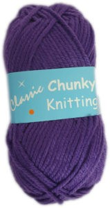 CLASSIC CHUNKY 100g-COL.48 VIOLET 4