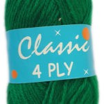 CLASSIC 4 PLY 25g-COL.62 YELLOW 3