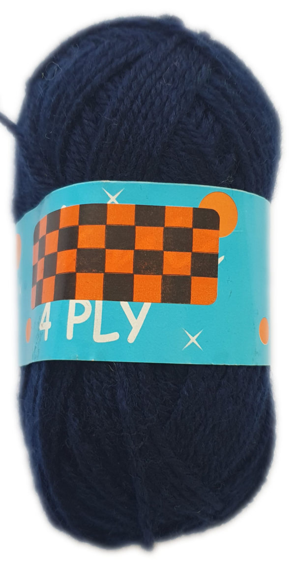 CLASSIC 4 PLY 25g-COL.04 NAVY 1