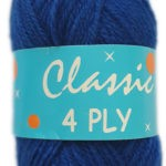CLASSIC 4 PLY 25g-COL.04 NAVY 3