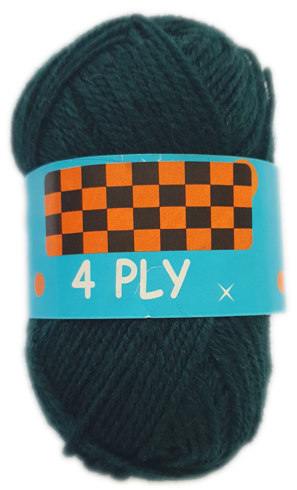 CLASSIC 4 PLY 25g-COL.05 BOTTLE GREEN 1