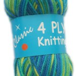 CLASSIC 4 PLY 25g-COL.92 TURQUOISE 3