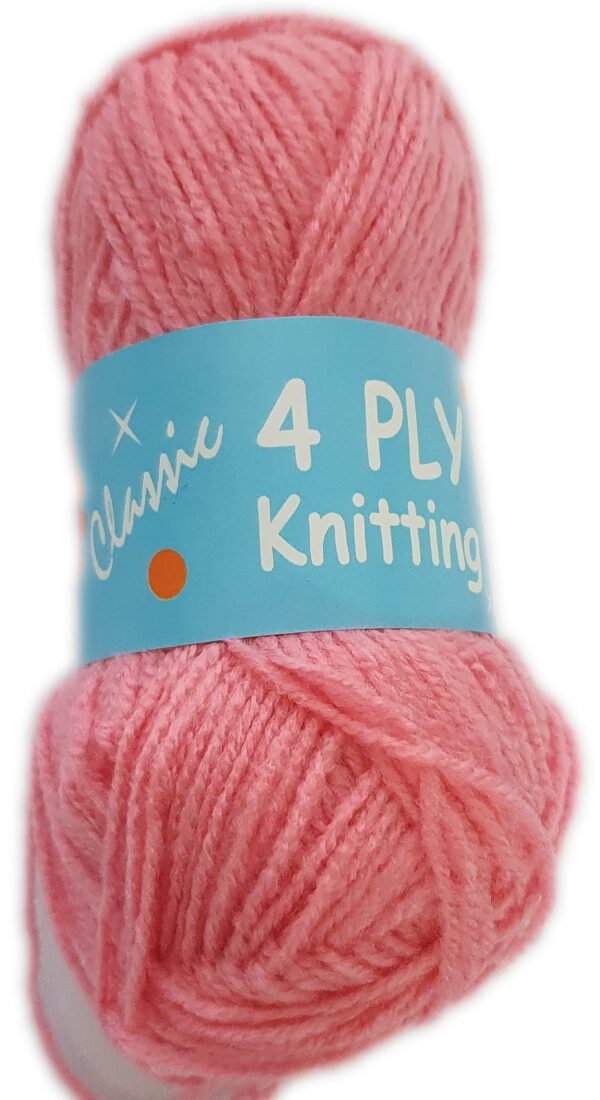 CLASSIC 4 PLY 25g-COL.118 PALE PINK 1