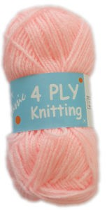 CLASSIC 4 PLY 25g-COL.18 PINK 4