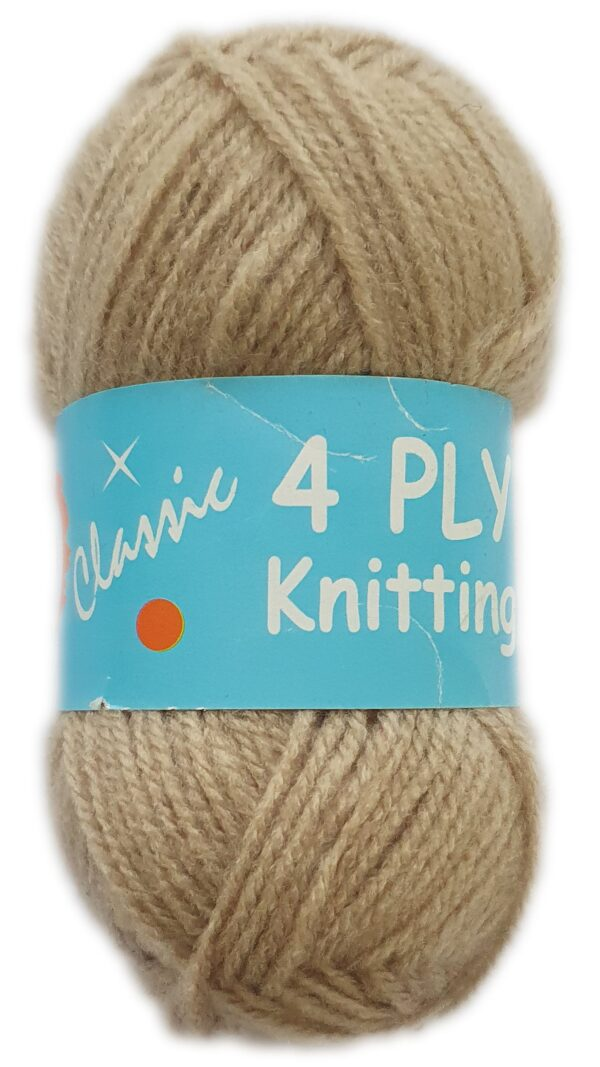 CLASSIC 4 PLY 25g-COL.24 BEIGE 1