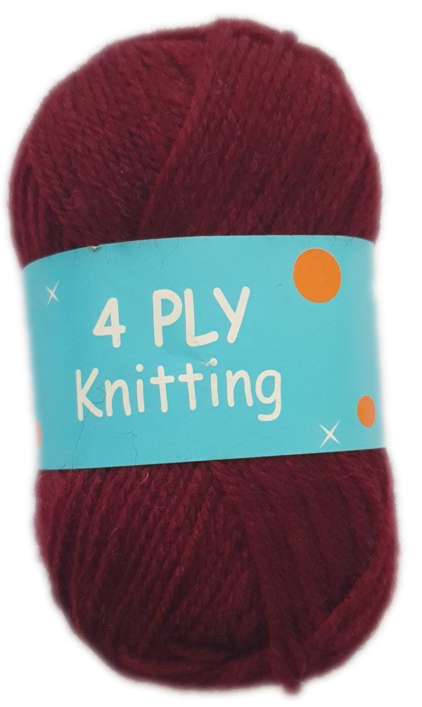 CLASSIC 4 PLY 25g-COL.27 MAROON 1