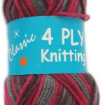 CLASSIC 4 PLY 25g-COL.27 MAROON 3