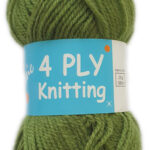 CLASSIC 4 PLY 25g-COL.34 LIME 2