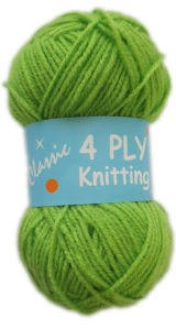 CLASSIC 4 PLY 25g-COL.34 LIME 4