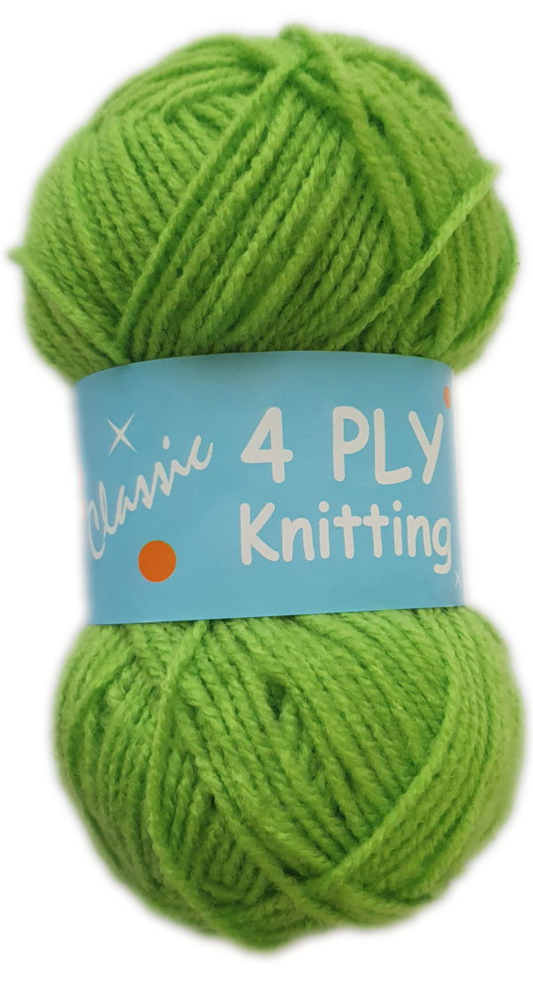 CLASSIC 4 PLY 25g-COL.34 LIME 1