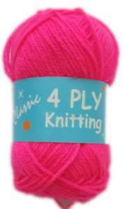 CLASSIC 4 PLY 25g-COL.53 CERISE PINK 3