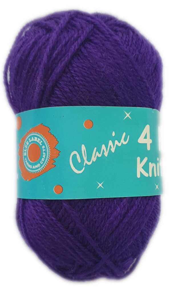 CLASSIC 4 PLY 25g-COL.68 VIOLET 1