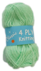 CLASSIC 4 PLY 25g-COL.75 MINT 4
