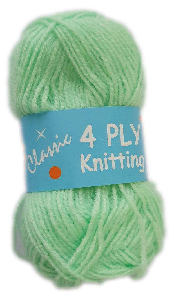CLASSIC 4 PLY 25g-COL.75 MINT 1