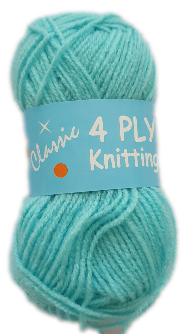 CLASSIC 4 PLY 25g-COL.92 TURQUOISE 1