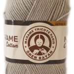 MADAME COTTON 100g-COL.059 BROWN 3